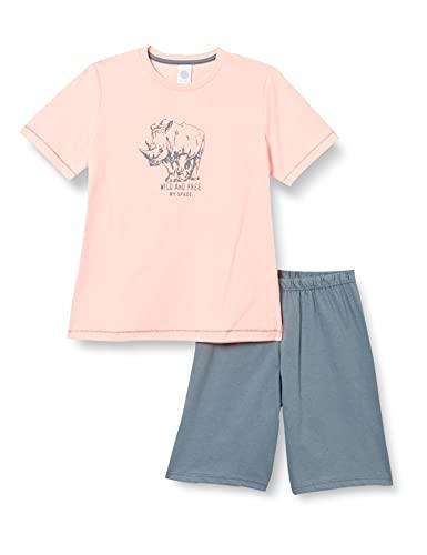 Sanetta Jungen kurz rosa Baby-und Kleinkind-Schlafanzüge, neon Melon, 98