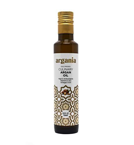 Organic Culinary Argan Oil , USDA Certified Organic, Eco Certified, Keto, Paleo, Gluten Free, Non-GMO. Morocco, 8.45fl oz/ 250ml
