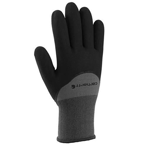 Carhartt Men s Thermal Dip Glove, Grey, Large
