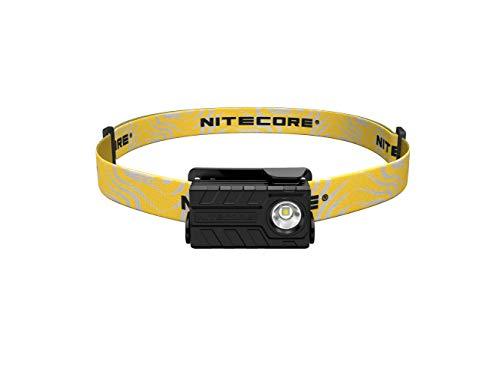 Nitecore 9004726 (Sysmax Industrial) Nu20 CRI USB Rechargeable Headlamp, Black