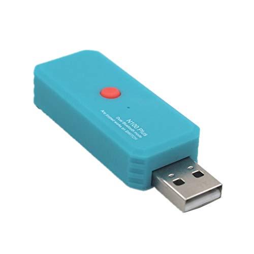 Lilon Adaptador convertidor de Controlador de Juego inalámbrico Bluetooth para Switch / PS4 / PS3 / Xbox One/Xbox One 360 Joy-con Xbox Plug and Play