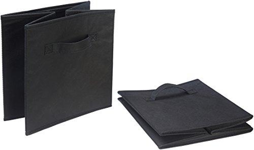 AmazonBasics Collapsible Fabric Storage Cubes Organizer with...