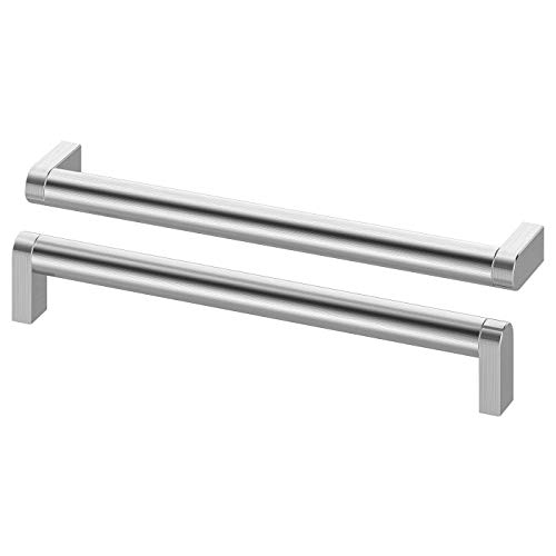IKEA ORRNAS -Griff aus Edelstahl / 2 Stück - 234 mm