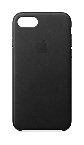 Apple Leather Case (for iPhone 8 / iPhone 7) - Black - MQH92ZM/A