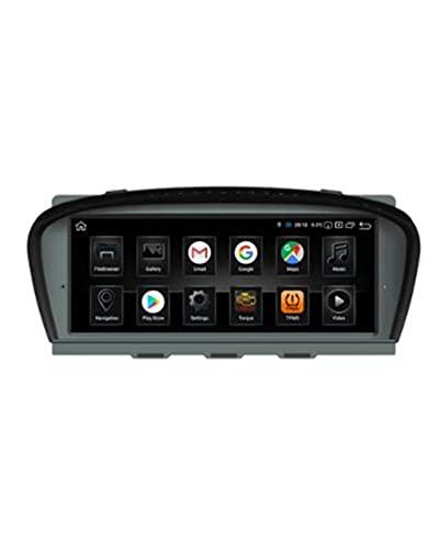 ACD Android10 2 + 32G Reproductor Multimedia de DVD de Coche de 8 núcleos Fit For BMW E60 / E90 BT RDS USB SD WiFi GPS Radio estéreo 7'Control de Rueda
