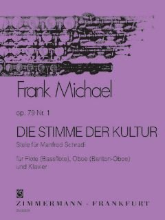 De stempel van de cultuur OP 79/1 - gearrangeerd voor dwarsfluit - Oboe - piano [noten / Sheetmusic] Component: MICHAEL FRANK
