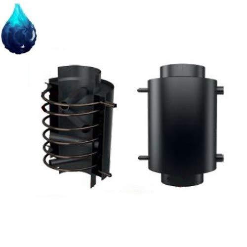 Wassergeführter Abgaswärmetauscher Kratki Ø 200mm mit Sicherheitswärmetauscher