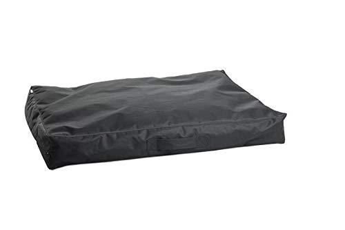 dogogo® eco lounger kussensloop zwart 80 x 60 x 15 cm