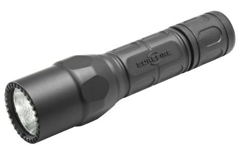 SureFire G2X LE, LED Flashlight with high output leading click-switch for Law Enforcement, Black