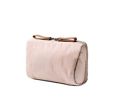 Fashion Trel Cosmetic Bag Women Solid Color Make Up Zipper Makeup Pouch Toiletry Beauty Wash Kit Bath Bags,3