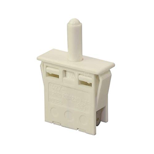 Einbauschalter, Drückschalter, Kühlschrank Taste Schalter, Türschalter, Ausschalter 1 Stück