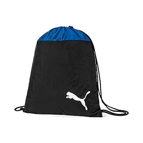 Puma teamGOAL 23 Gym Sack, Sacca Sportiva Unisex-Adult, Electric Blue Lemonade Black, OSFA