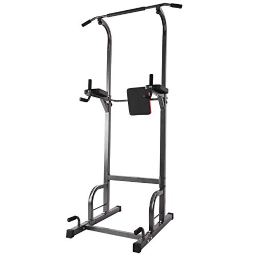 Buy Discount FACAIA Power Tower, Dumbbells Bench, Horizontal Bar Cause Upwards Supine Board, Pull Up...