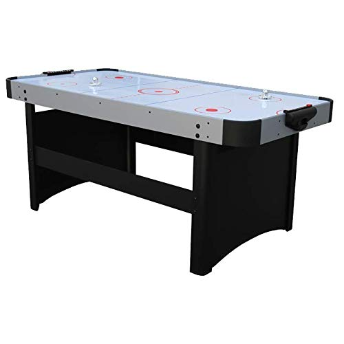 Air League Light Speed 6ft Air Hockey Table Silver
