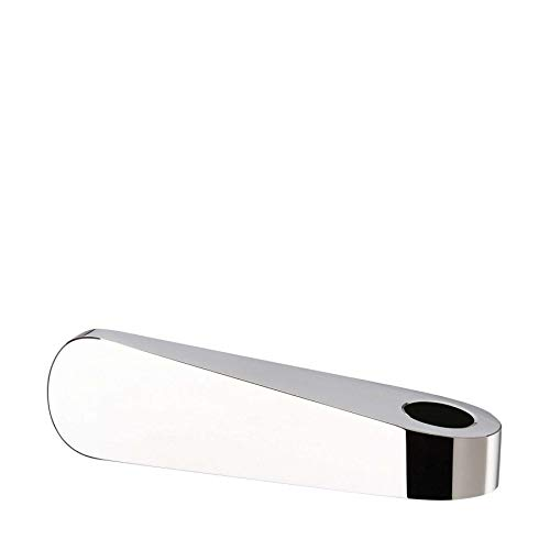 Rosenthal - Kerzenständer - Kerzenhalter - Leuchter - SWAN - Glas - Silber