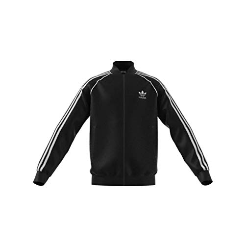 adidas GN8451 SST Tracktop Pullover Unisex - Bambini Black/White 1516