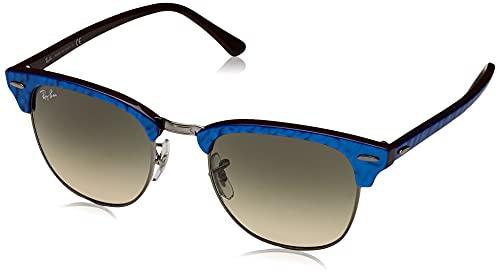 Ray-Ban Clubmaster Gafas de lectura, Blau, 51 Unisex Adulto