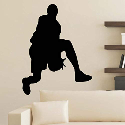 Tianpengyuanshuai Passion basketbal muur stickers verwijderbare vinyl planken super lijm kinderkamer sportkamer decoratie