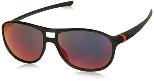 TAG HEUER 66 6043 113 601603 Ovale zonnebril, Zwart, 60 mm
