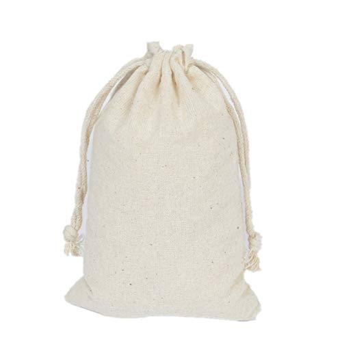Bolsas de regalo con cordón Plus PO Bolsas de arpillera Bolsas de decoración Bolsas de embalaje Bolsas de regalo de fiesta Suministros de Navidad Accesorio Decoración de fiesta de Navidad 11 x 16 cm