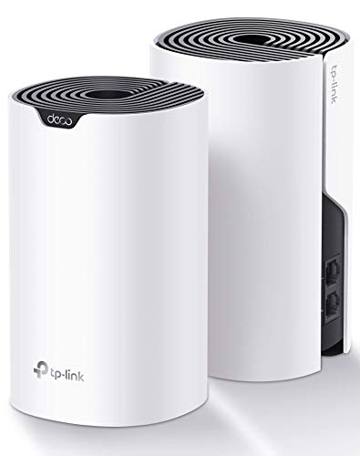 TP-Link Deco Whole Home Mesh WiFi System– Up to 3,800 Sq.ft. Coverage, WiFi Router/Extender Replacement, Gigabit Ports, Parental Controls, Works with Alexa(Deco S4 2-Pack)