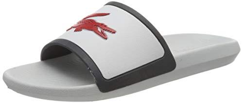 Lacoste Herren Croco Slide TRI3 CMA Sneaker, Weiß (Wht/NVY/Red), 46 EU