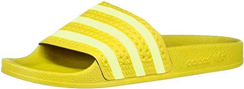adidas Damen Adilette W Aqua Schuhe, Mehrfarbig (Yellow/Semi Frozen Yellow/Yellow Ee7449), 39 1/3 EU