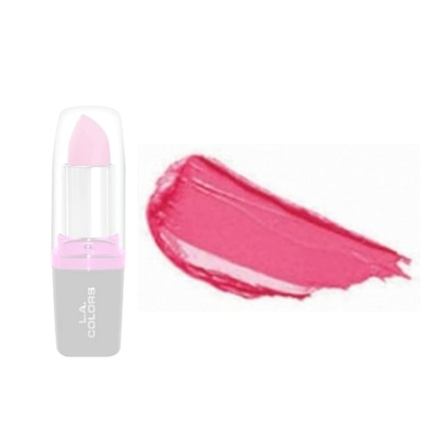 むちゃくちゃ牽引言い換えると(3 Pack) LA Colors Hydrating Lipstick - Dream On (並行輸入品)