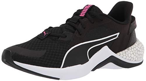 PUMA Hybrid NX, Cross Trainer Mujer, Black Luminous Pink, 42.5 EU