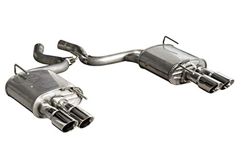 2015-2017 Mustang Ecoboost Coupe Roush 421922 Quad Tip Exhaust Kit