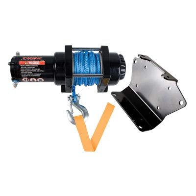 Why Should You Buy TUSK Winch with Synthetic Rope and Mount Plate 3500 lb.