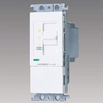Panasonic コスモシリーズワイド21 埋込調光スイッチB(片切)スライド式(ホワイト) WT57615WK