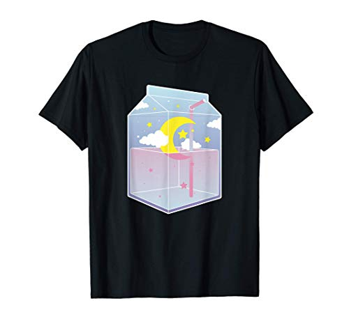 Süß Kawaii Aesthetic | Vaporwave Japan Süd Korea | Milk Box T-Shirt