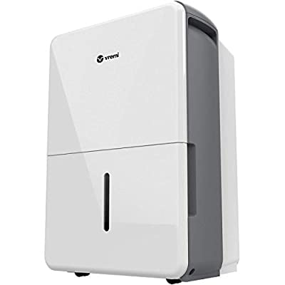 Vremi 22 Pint 1,500 Sq. Ft. Dehumidifier Energy Star Rated for Medium Spaces and Basements by Vremi