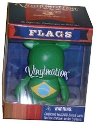 Disney Vinylmation Flags Series 3 Figure -- Brazil by Vinylmation