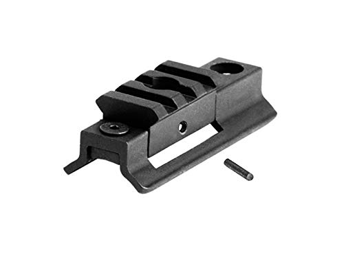 AS-S2W03SL Innovative Low Profile Swivel Stud Picatinny/Weaver Rail Adaptor with 3 Slots, Integrated with Quick Detachable Sling Swivel mounting Base