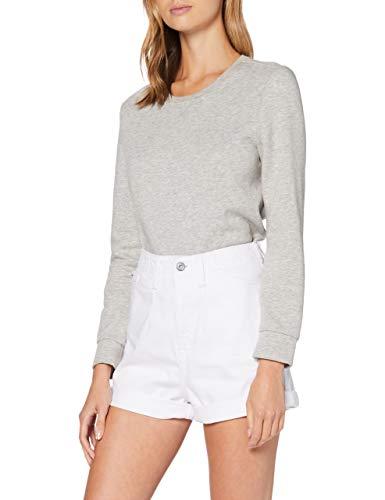 edc by ESPRIT Damen 050CC1C303 Shorts, 100/WHITE, 30