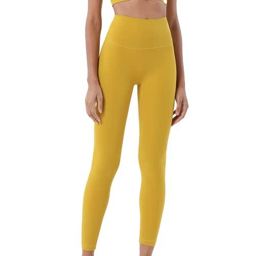 Leggings sin Costuras de Cintura Alta Deportivos para Mujer, Pantalones de Yoga para Correr, Pantalones elásticos de energía, Mallas de Gimnasio para niñas EM