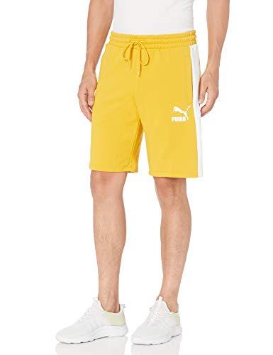 "PUMA Herren Iconic T7 10"" Shorts, Goldener Stab, X-Groß"