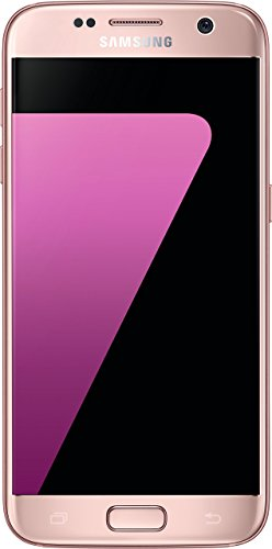 Samsung Galaxy S7 Smartphone (12,92 cm (5,1 Zoll) Touch-Display, 32GB interner Speicher, Android OS) pink (Generalüberholt)