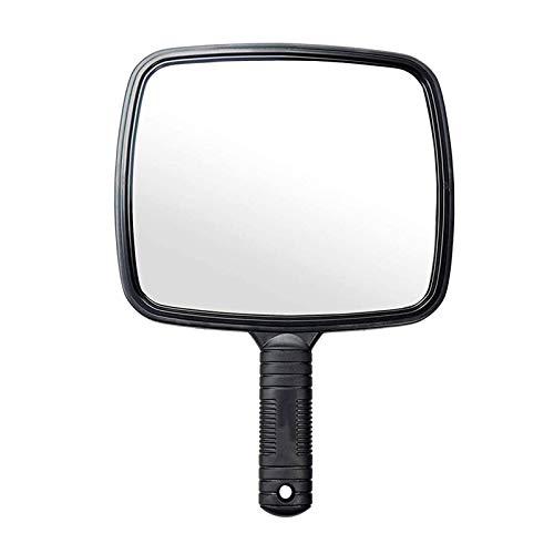 Espejo de mano con mango para peluqueria, uso profesional