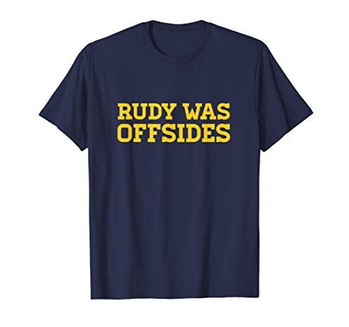 Rudy was offsides CFB - T-shirt