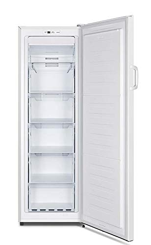 CONGELADOR VERTICAL CV-17H76 INFINITON (A+, BLANCO, NO FROST, Altura 170cm, 183 Litros, Puerta reversible, Termostato regulable, Independiente)
