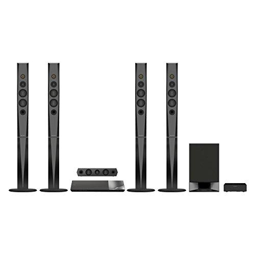 Sony BDV-N9200W - Equipo de Home Cinema 5.1 de 1200W con amplificador S-Master HX (Blu-ray, 3D, 4K Upscale, Hi-Res Audio, USB, HDMI, NFC, Bluetooth, Wi-Fi y Miracast), negro