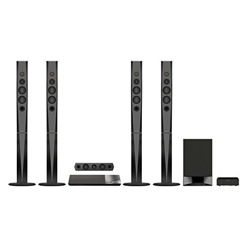 Sony BDVN9200WB 5.1 Blu-ray Heimkinosystem (S-Master HX Digitalverstärker, 1200 Watt, 3D, WLAN, Smart TV, Bluetooth, NFC, Spotify, WiFi) schwarz