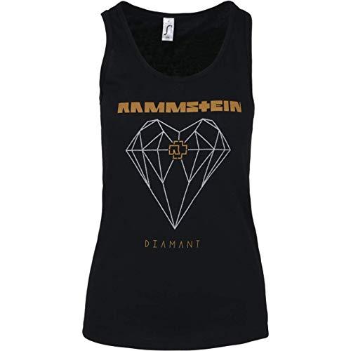 Rammstein Frauen Tank Top Diamant schwarz - M
