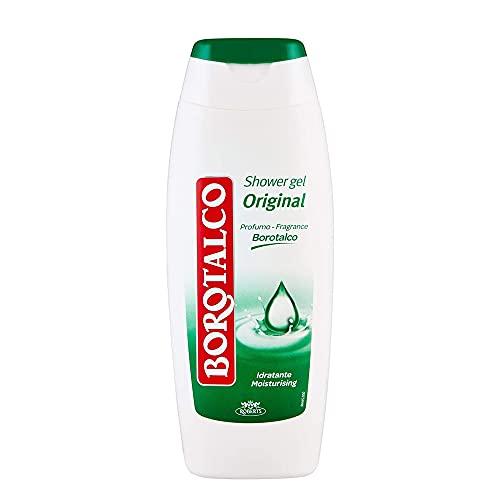 6x Borotalco bagnodoccia idratante Talkum Duschcreme Duschgel shower gel 250ml