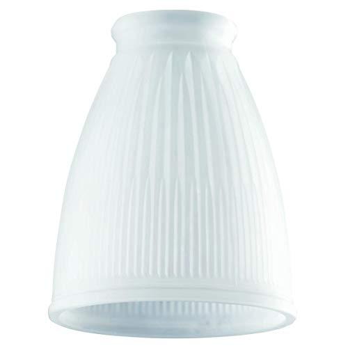 81094 – paralume di vetro smerigliato pieghettato