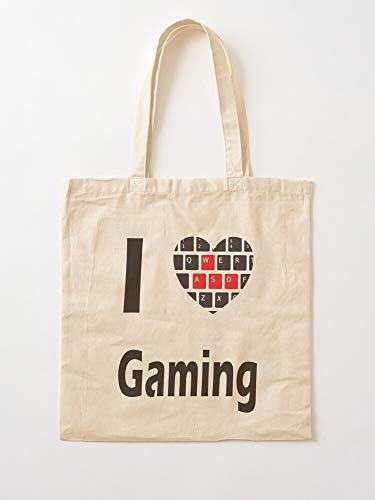Controller Gaming Game Gamers Geek Games Gamble Nerd Canvas Tote Umhängetasche Stylish Shopping Casual Bag Faltbare Reisetasche