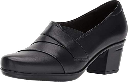 Clarks Women's Emslie Warbler Pump,Black,7 M US